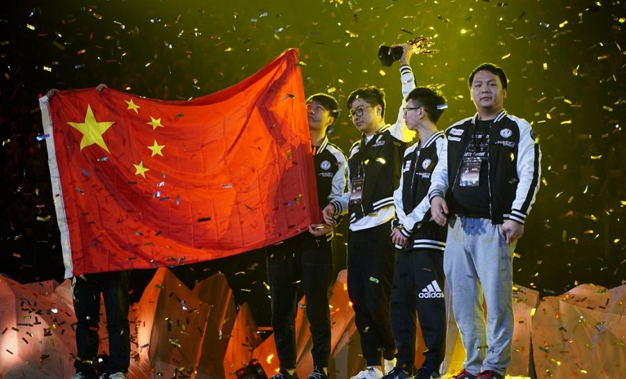 Team Liquid, Newbee, DAC, Team Empire, Invictus Gaming, iG Vitality