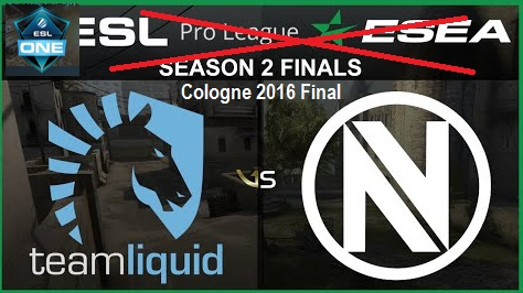 fnatic, ESL One Cologne, Luminosity Gaming, Natus Vincere, Team Liquid, Ninjas in Pyjamas, Team Envy