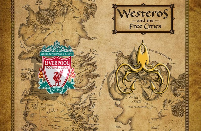 Liverpool FC as House Greyjoy
