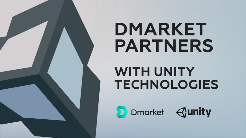 DMarket partners with Unity