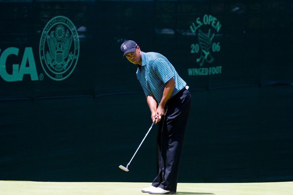 &quout;US-Open-2006-Tiger Woods&quout; by Erik Anestad is licensed under CC BY-NC-ND 2.0
