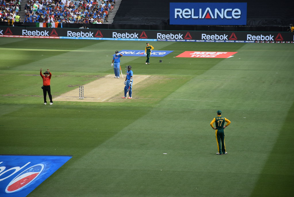 &quout;Cricket World Cup 2015&quout; by Visit Victoria is licensed under CC BY 2.0