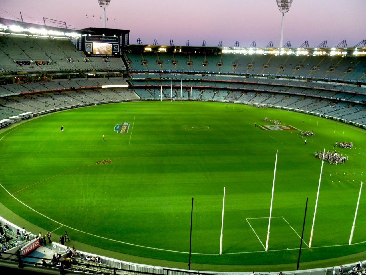 aussie rules field