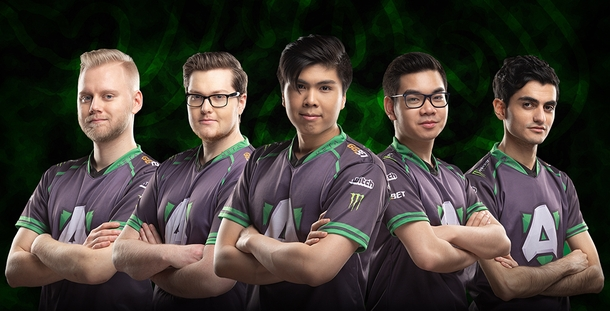 Состав Alliance на The international 2019